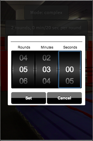 Yoba simple boxing timer- screenshot