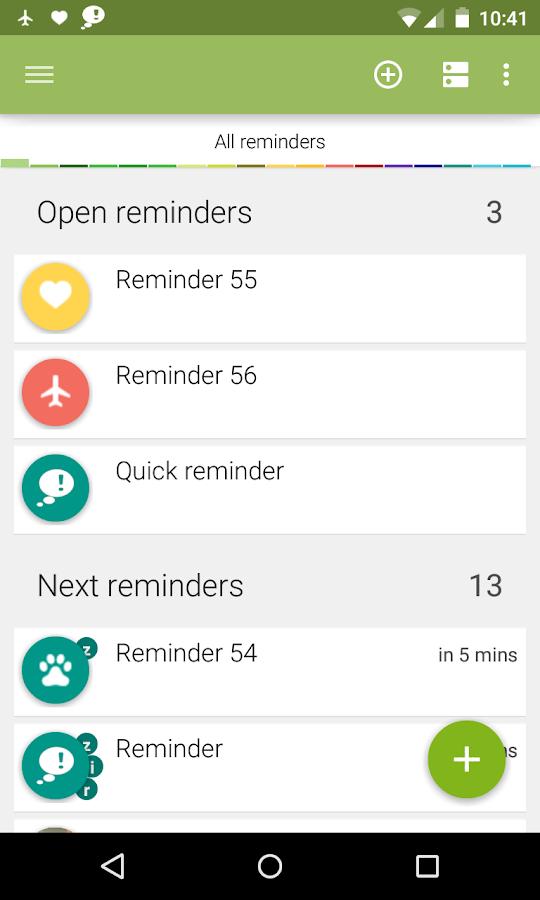 n'4get Reminder Pro- screenshot
