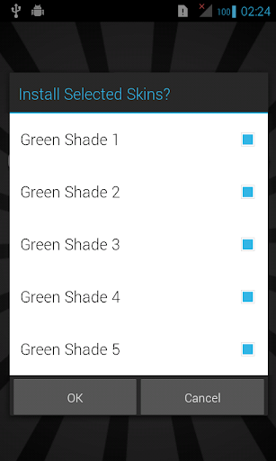 Green Skins for iSense Music