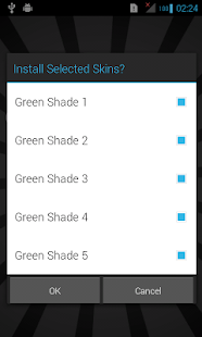 Green Skins for iSense Music - screenshot thumbnail