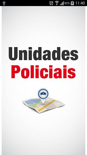 Unidades Policiais de SP