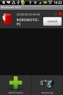 Bluetooth RSSI Pro - screenshot thumbnail
