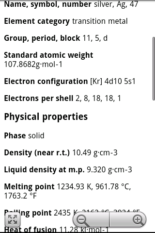 Elements periodic table pro by susasoftx google play united screenshots urtaz Choice Image