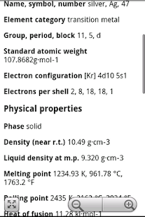 Elements periodic table pro android apps on google play elements periodic table pro screenshot thumbnail urtaz Choice Image