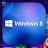 Windows 8 Launcher Theme logo
