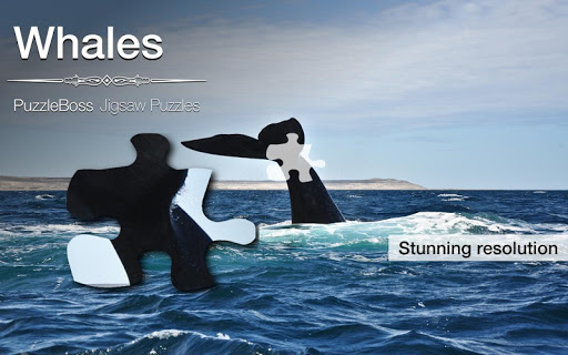 Whale Jigsaw Puzzles Demo