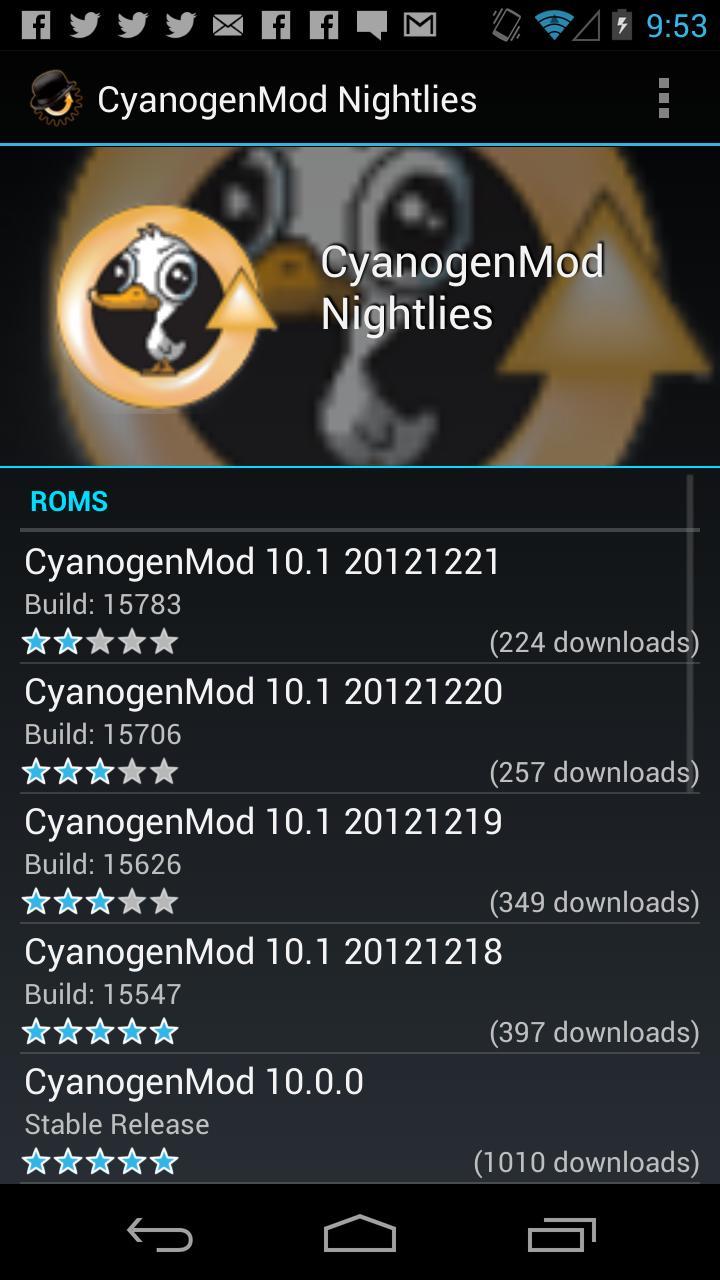 ROM Manager (Premium) screenshot #3
