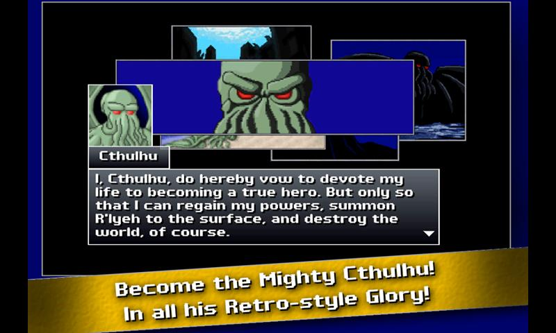 Cthulhu Saves The World - screenshot