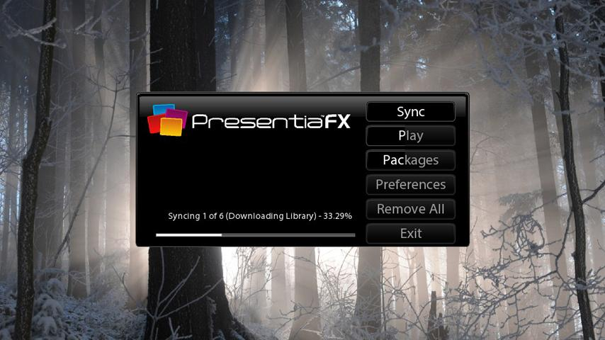 PresentiaFX- screenshot
