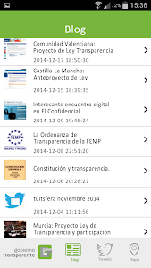Gobierno Transparente screenshot 1