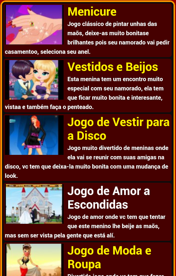 Jogos de Meninas - screenshot