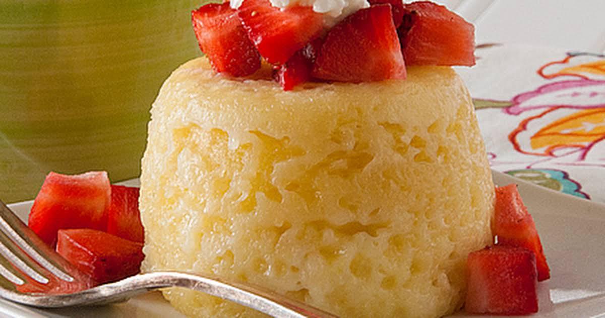 10 Best Microwave Sponge Cake No Butter Recipes