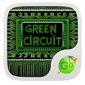 Green Circuit Keyboard Theme icon