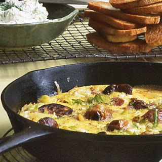 Ham and Leek Frittata.