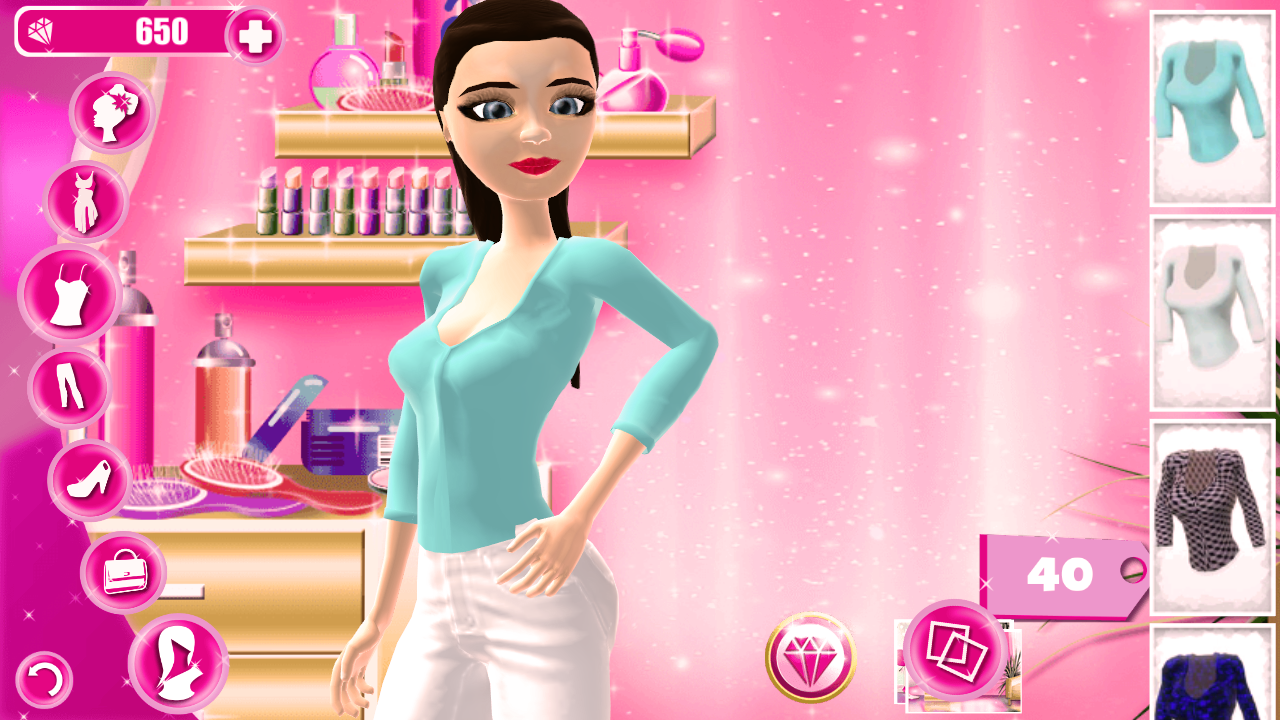 Top Model Dress Up  Hair Salon  screenshot. Top Model Dress Up  Hair Salon   Android Apps on Google Play