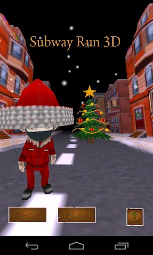 Subway Run 3D - Christmas