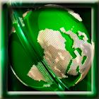 Green Globe LWP icon