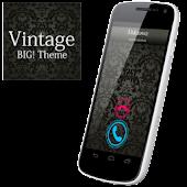 BIG! caller ID Theme Vintage