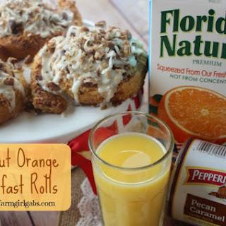Coconut Orange Breakfast Rolls