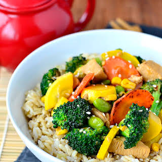 Chicken and Vegetable Stir Fry.