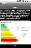 Screenshot of Home Energy Performance US