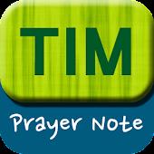 TIM 기도노트 - 두란노해외선교회