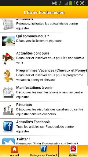 【免費運動App】Etrier Fontenaisien-APP點子
