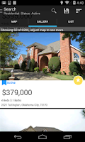 Screenshot of Oklahoma City GoMLS