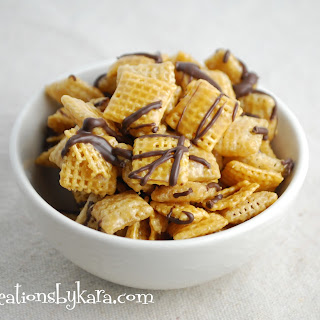 Chocolate Caramel Chex Mix