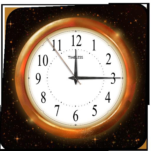 gold clock live wallpaper apk