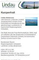 Screenshot of Lindau Insel