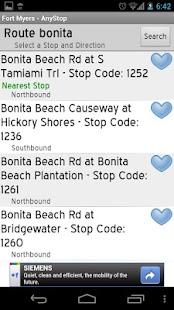 Bee Line Bus: AnyStop - screenshot thumbnail