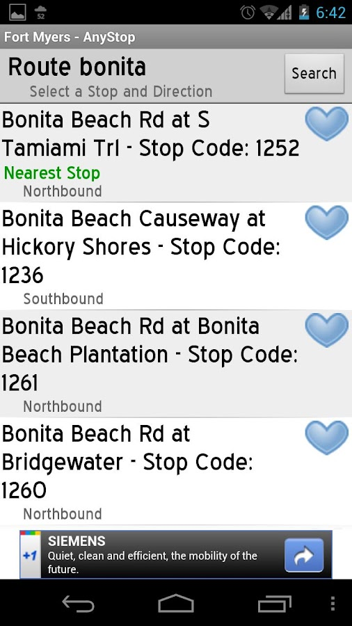 Bee Line Bus: AnyStop - screenshot