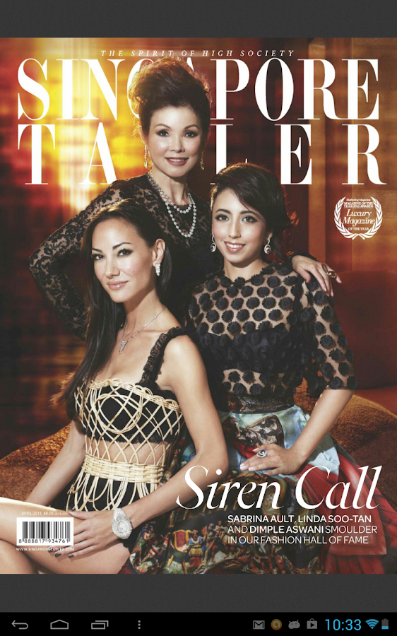 Singapore Tatler - screenshot