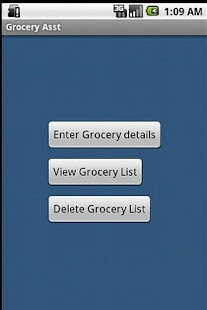 Grocery Asst - screenshot thumbnail