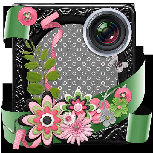 剪貼簿照片拼貼製作 攝影 LOGO-阿達玩APP