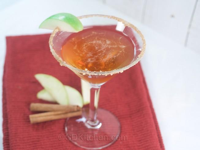 Caramel Apple Pie Martini Recipe