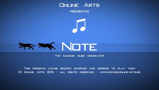 Random Music Generator