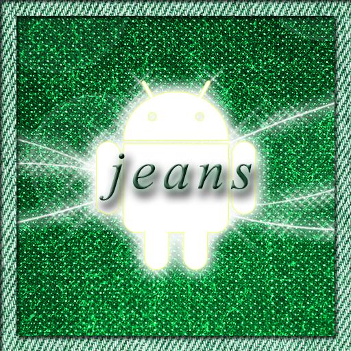 Jeans Green Go Launcher Theme LOGO-APP點子
