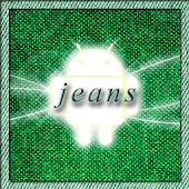 Jeans Green Go Launcher Theme
