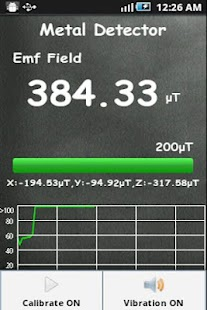 Metal Detector Sensor - screenshot thumbnail