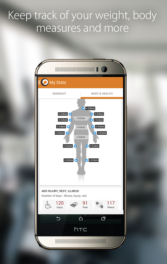 Shapelink Fitness Journal- screenshot
