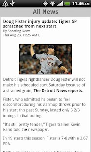 Sporting News Pro Baseball - screenshot thumbnail