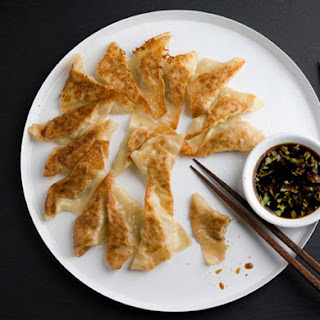 Chicken and Celery Pot Stickers.