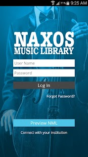 Naxos Music Library - screenshot thumbnail