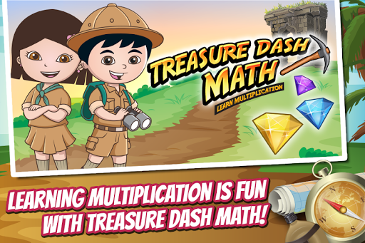 Math Dash Learn Multiplication
