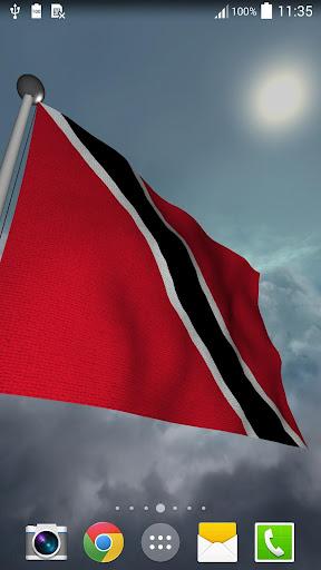 Trinidad Tobago Flag - LWP