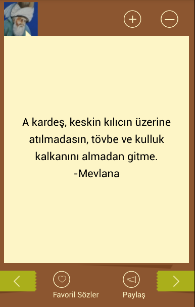 Mevlana S 246 Zleri Android Apps On Google Play