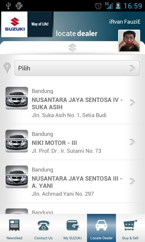 Suzuki Indonesia- screenshot