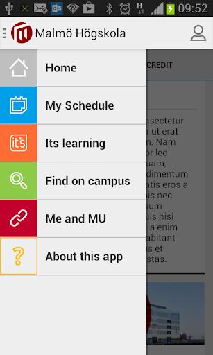 Malmö University Student App